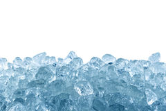 Zdruzgotany lód obrazy royalty free