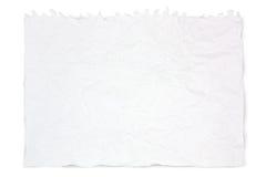zdruzgotany papierowy biel Obraz Royalty Free
