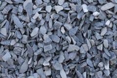 Zdruzgotany siwieje kamień obrazy stock