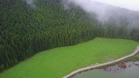 Zdumiewająca laguna Siedem miasta Lagoa das 7 cidades zdjęcie wideo
