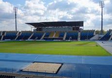 Zdzislaw Krzyszkowiak Stadium en Bydgoszcz Fotografía de archivo libre de regalías
