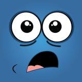 Zdziwiona twarz Obraz Stock