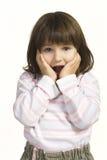 Zdziwiony dziecko Zdjęcie Stock