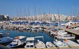 Zea Marina in Athens Stock Image