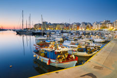 Zea marina, Athens. Royalty Free Stock Photo
