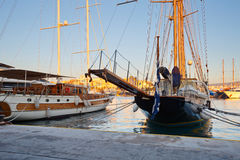 Zea marina, Athens. Royalty Free Stock Images