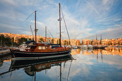 Zea marina in Piraeus, Athens. Stock Photos