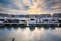 Zea marina in Piraeus, Athens. Royalty Free Stock Image