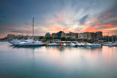 Zea marina in Piraeus, Athens. Royalty Free Stock Photos