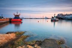 Zea marina in Piraeus, Athens. Royalty Free Stock Photos