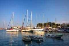 Zea marina in Piraeus, Athens. Stock Image