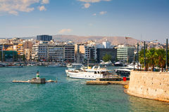 Zea marina in Piraeus, Athens. Stock Photos