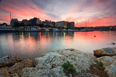 Zea marina in Piraeus, Athens. Royalty Free Stock Images