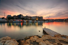 Zea marina in Piraeus, Athens. Stock Photography