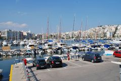 Zea Marina in Piraeus, Athens Stock Photos