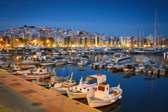 Zea marina w Piraeus, Ateny fotografia stock