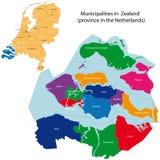 Zealand - província dos Países Baixos ilustração do vetor