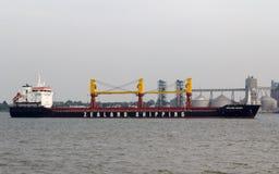 Zealand shipping container ship Royalty Free Stock Photos