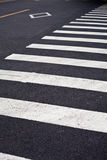 Zebraüberfahrt Stockbild
