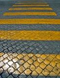 Zebraüberfahrt Stockbilder