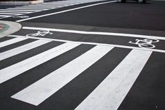 Zebraüberfahrt Stockfoto