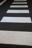 Zebra-Überfahrt lizenzfreie stockfotos