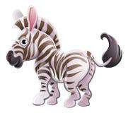 Zebra Animal Cartoon Character Royalty Free Stock Photos