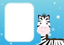 Zebra background Stock Photography