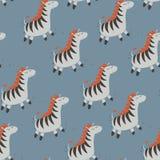 Zebra bonito Imagens de Stock