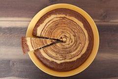 Zebra Cake - Homemade Recipes Royalty Free Stock Photos