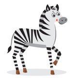 Zebra Carattere dell'animale del fumetto Tagli il vettore Bambino della zebra Testa della zebra Zebra Emoji Fotografia Stock