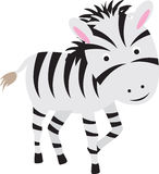 Zebra cartoon Royalty Free Stock Photography