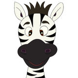 Zebra cartoon Royalty Free Stock Image