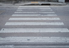 Zebra Cross way Stock Photos
