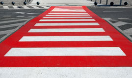 Zebra crossing Stock Images