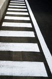 Zebra crossing stock image