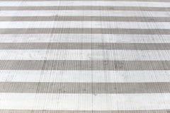 Zebra crossing or crosswalk on street. Stock Images