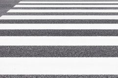 Zebra crossing pattern stock photo