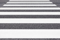 Zebra crossing pattern Stock Photography