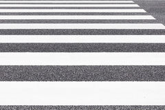 Zebra crossing pattern Royalty Free Stock Photos