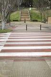 Zebra crossing road Royalty Free Stock Photo