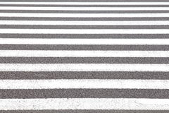 Zebra crosswalk Royalty Free Stock Photo