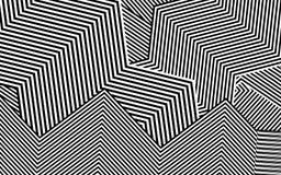 Zebra Design Black and White Stripes Vector Stock Image