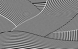 Zebra Design Black and White Stripes Vector Royalty Free Stock Photo