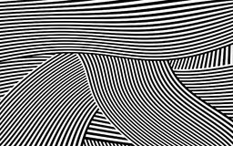 Zebra Design Black and White Stripes Vector Royalty Free Stock Photo