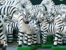 Zebra dolls. Zebra doll, one of Thai believe for local god Stock Image