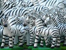 Zebra dolls. Zebra doll, one of Thai believe for local god Royalty Free Stock Images