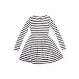 Zebra dress for girls stock photo