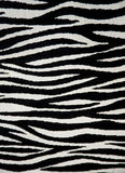 Zebra fabric texture Stock Photography