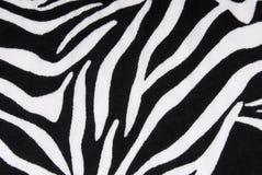 Zebra fabric texture background Stock Images
